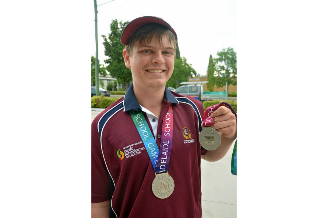 2015 PSG Table Tennis Competitor Aaron Payne has success at Australia Para Nationals