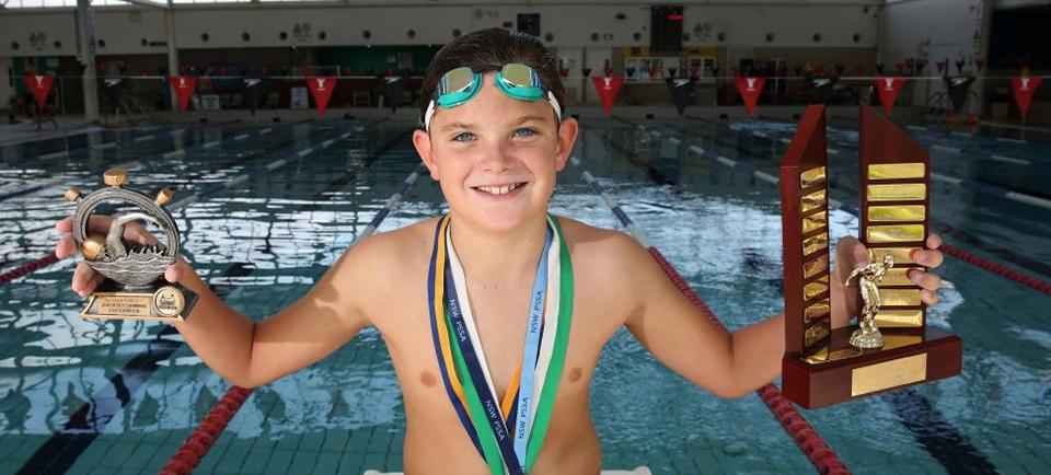 Rising star Grayson Doig makes a splash (Macarthur Chronicle Campbelltown)