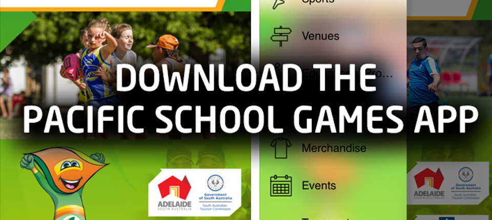 eNewsletter: Download the Pacific School Games App (3 July 2017)