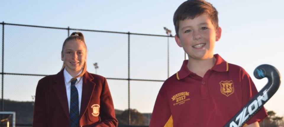 Emily and Nathan going to play at the Pacific School Games (Lithgow Mercury)
