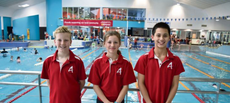 Central Aquatic Swimming and Lifesaving Club trio sets sights on Pacific School Games success with WA (Eastern Reporter)