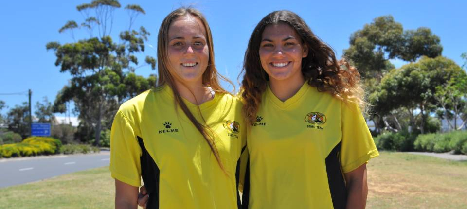 Bunbury players Kloe Bassett and Courtney Butlion picked for State School Girls Under 19 Squad (Bunbury Mail)