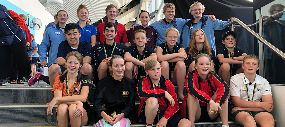 Multi class swimmers compete alongside Paralympians at Pacific School Games